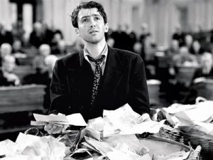 Jimmy Stewart in 'Mr. Smith Goes to Washington'